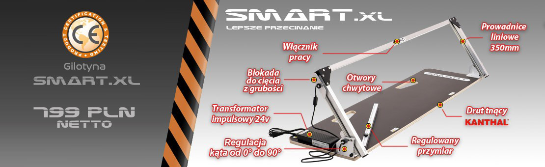 Maszyna do cięcia styropianu Smart.XL